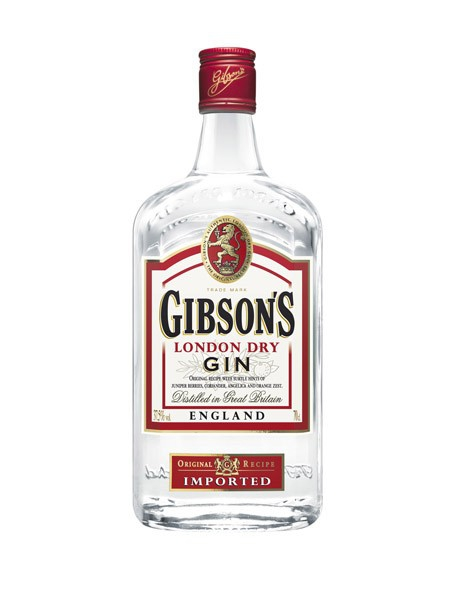 Gin Gibsons 37,5% 0,7L