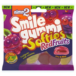 Cuk.Nimm2 90g Smile RedFruits Softies