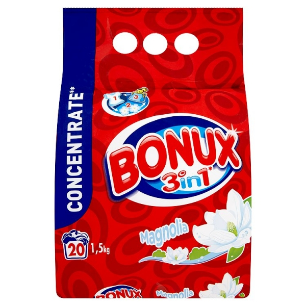 Bonux 1,5kg polar ice fresh 3v1 whites
