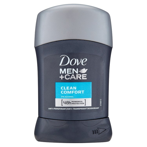 Dove men stick 50ml cleancomf.