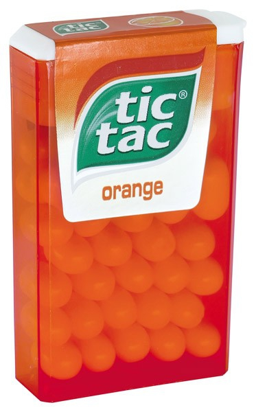 Cuk.Tic Tac orange 18g