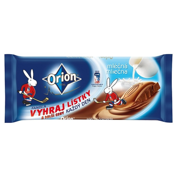 Čok.Orion mlieč.100g/20ks/