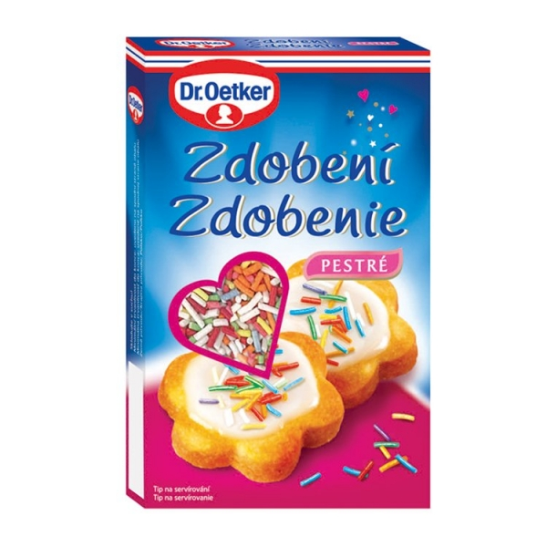Decor zdob.80g pestré