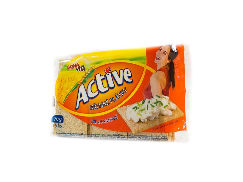 Active plátky graham.70g