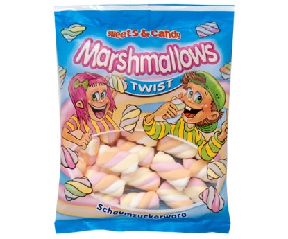Cuk.Marshmallows 100g twist