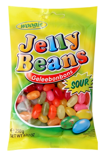 Cuk.Jelly beans 250g Woogie