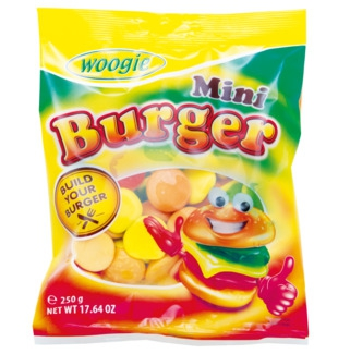 Cuk.Burger mini 250g Woogie